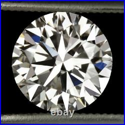 1.5ct GIA CERTIFIED I VS2 3x EXCELLENT DIAMOND HEARTS & ARROWS IDEAL ROUND CUT