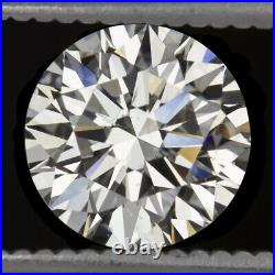 2ct 8.1mm GIA CERTIFIED TRIPLE EXCELLENT CUT DIAMOND IDEAL ROUND HEARTS & ARROWS
