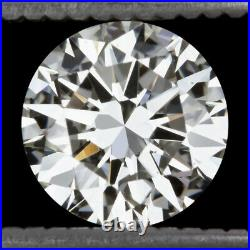 2ct GIA CERTIFIED HEARTS & ARROWS IDEAL CUT DIAMOND J SI1 TRIPLE EXCELLENT ROUND