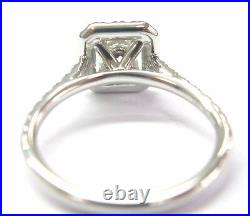 Hearts On Fire 18Kt Radiant Cut NATURAL Diamond Engagement Ring. 95CT G-H VS2