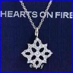 Hearts on Fire Dream Cut Diamond Mythical Necklace 0.59 tcw 16' 18k White Gold