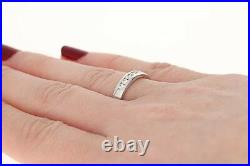 NEW Hearts On Fire Diamond Wedding Band 18k White Gold Ring Round Cut. 26ctw